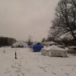 tentenkampindesneeuw